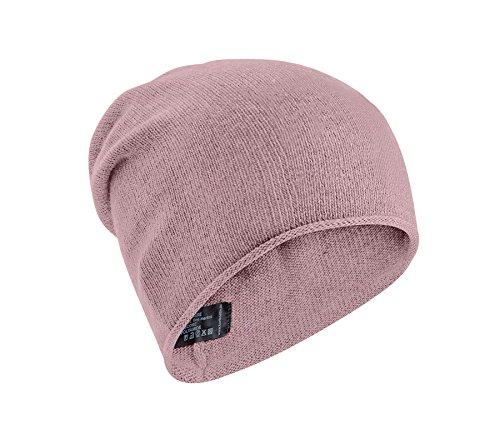 e5fd2335200148 Slouch-Beanie-Mütze für Damen / Uni-Farben mit Kaschmir / Cashmere von  Zwillingsherz – Cashmere Dreams / Strickmütze als Kopfbedeckung – das  perfekte ...