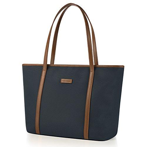chiceco nylon arbeit shopper tasche handtasche damen. Black Bedroom Furniture Sets. Home Design Ideas