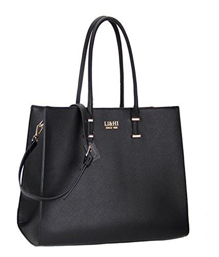 Miss lulu damen klassische handtasche winged for Edelstahl dekoration metalldekoration