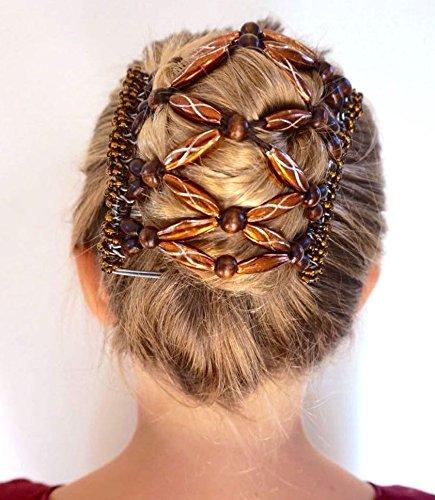 justfox trend african hairclip haarklammer mit ornamenten rot sch ne schmucksachen. Black Bedroom Furniture Sets. Home Design Ideas