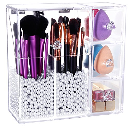 lifewit kosmetik organizer makeup aufbewahrung. Black Bedroom Furniture Sets. Home Design Ideas