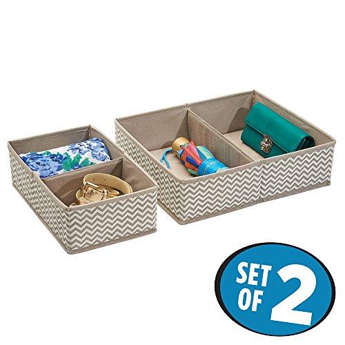 mdesign 6er set stoffbox f r schrank oder schublade die. Black Bedroom Furniture Sets. Home Design Ideas