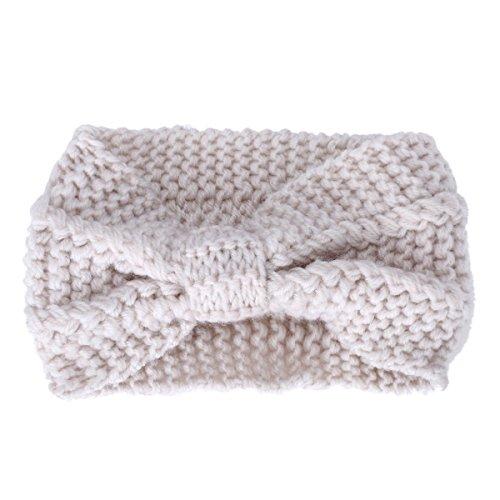 butterme twisted knotted crochet strick stirnband damen. Black Bedroom Furniture Sets. Home Design Ideas