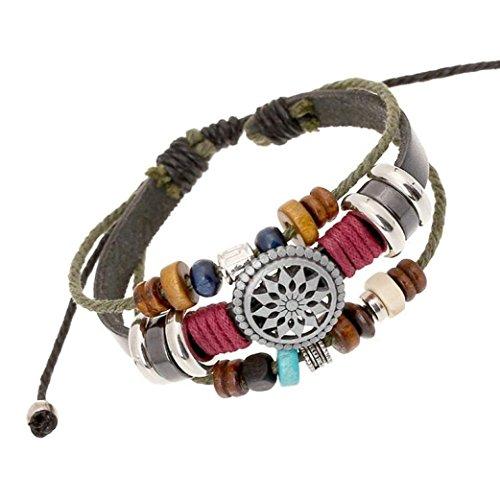 sunnywill mehrschichtige hand wind perlen gewebt armband. Black Bedroom Furniture Sets. Home Design Ideas