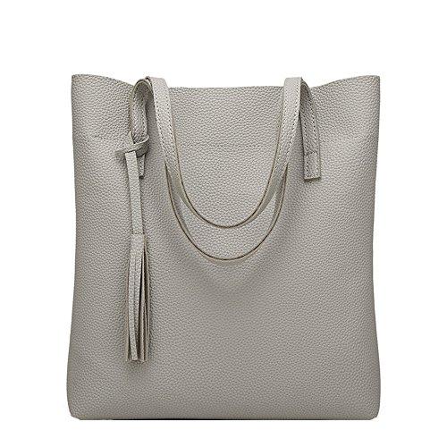 b grey gr e l anne damen handtasche taschen legere. Black Bedroom Furniture Sets. Home Design Ideas