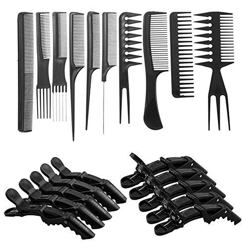 marke neuen sef von 10 pcs professionelle hair styling. Black Bedroom Furniture Sets. Home Design Ideas