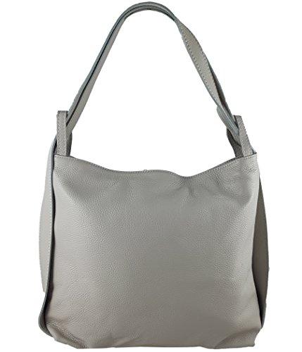 d23c1a36d819a Freyday 2in1 Damen Handtasche Rucksack Designer Luxus Henkeltasche aus 100%  Echtleder